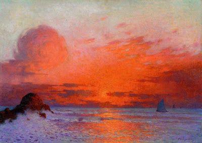 Ferdinand du Puigaudeau (1864-1930) French Impressionist Painter