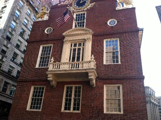 Freedom Trail: Old State House Site of the