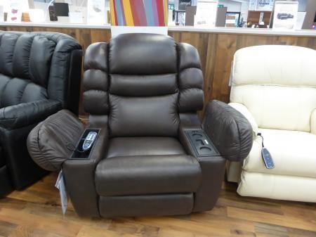 La Z Boy Cool Cooler Leather ReclinerMassage Amp Built In Fridge Chair Stuff In 2019 Leather