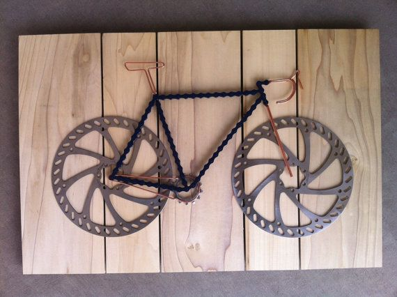 Bike Art reserved for B.T. di TheBikeFund su Etsy