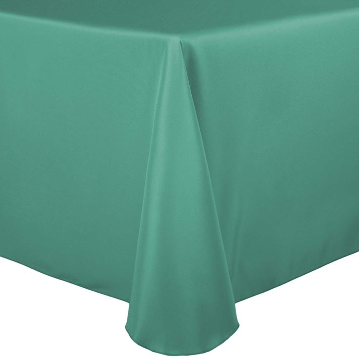 Basic Polyester Oblong Tablecloth