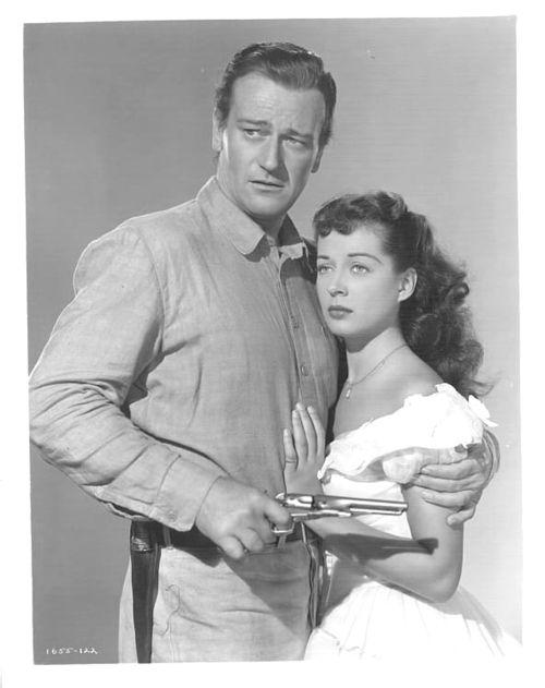 Gail Russell & John Wayne