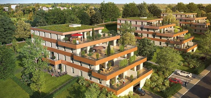 Découvrez un Programme immobilier neuf magnifique Le clos saint fiacre à Villers les nancy