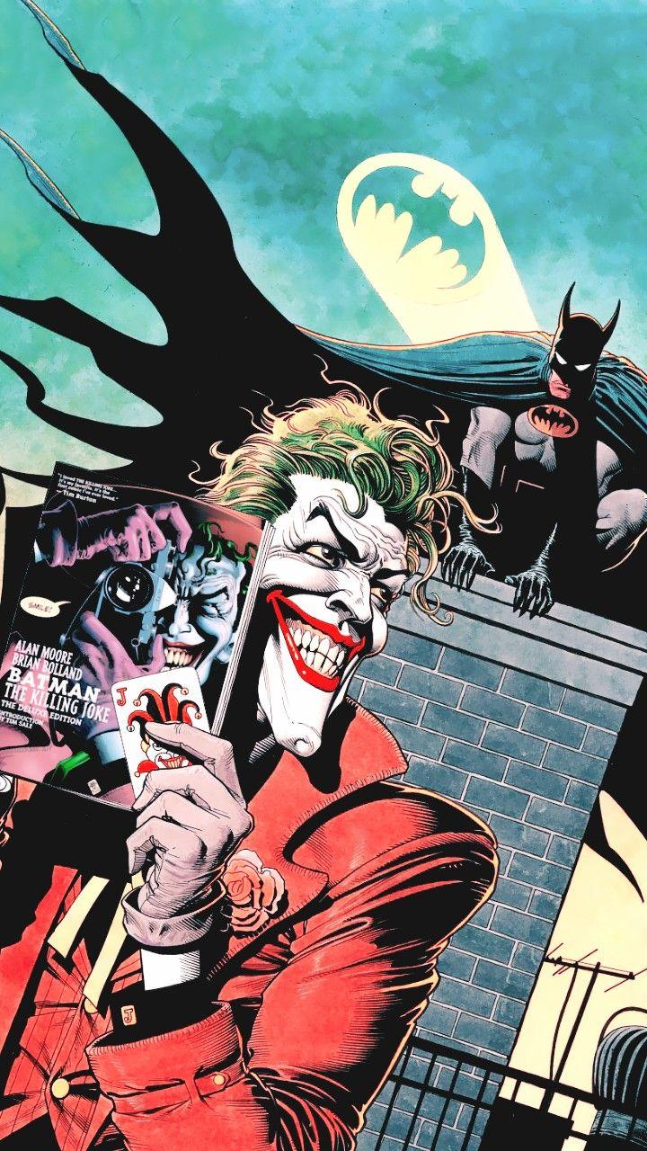 Joker reads his books ?????
