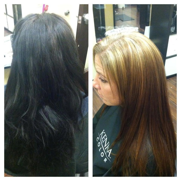 Remove Black Color From Hair By Kenra
