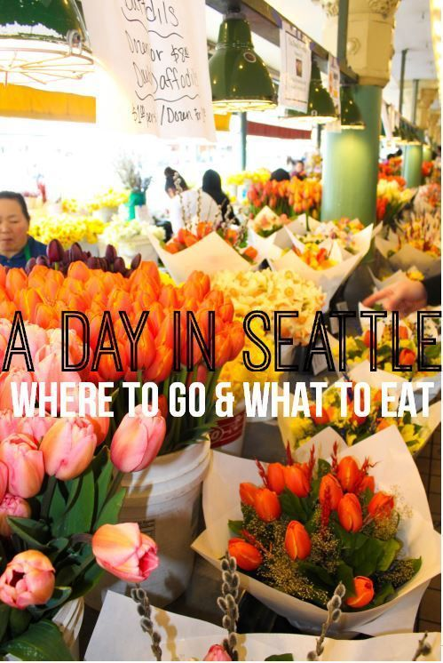 """Your """"one-day"""" guide to seeing the best sites and eating the best food at each one. Begin in Bellevue (where you should stay to avoid the Seattle crowds and high hotel prices). Pre- Breakfast: Top Po"""