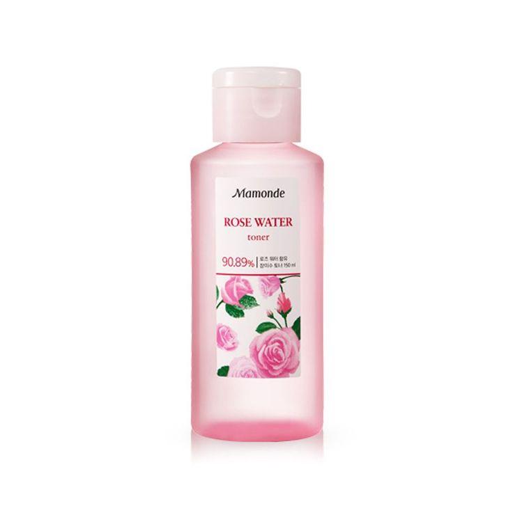 Mamonde 90.89% Rose Water Daily Skin Toner 150ml Korean Cosmetics #Mamonde