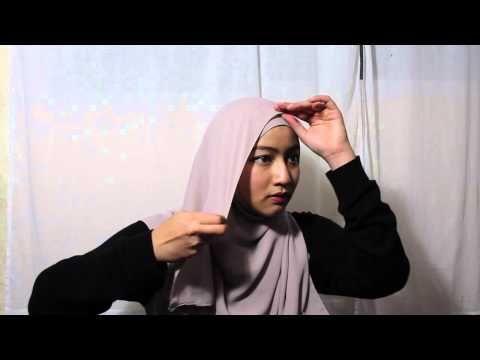 WIDE CHIFFON IN 4 STYLES    SHAWL TUTORIAL - YouTube