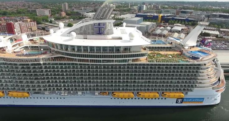 We're going Harmony of the Seas crazy as the world's largest cruise ship was delivered to Royal Caribbean just days ago. We've posted photos, facts, videos and now the first drone video! While the ship is docked in Southampton before it's very first cruise on May 22.
