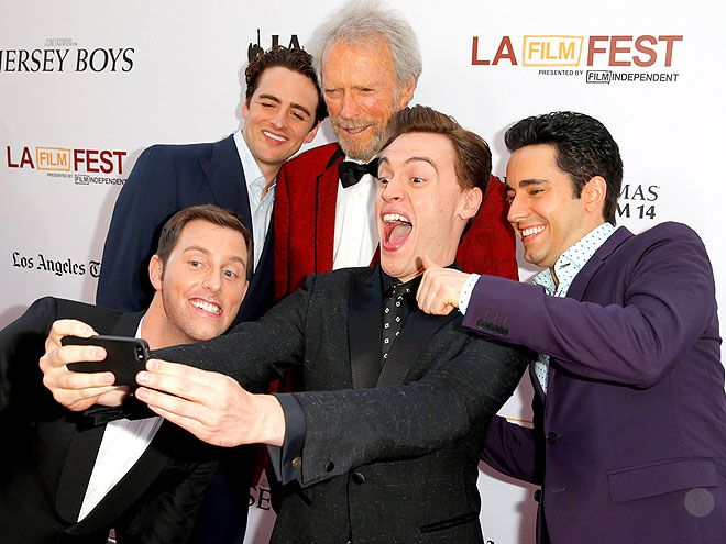 JERSEY BOYS; BOYS WILL BE BOYS photo | Clint Eastwood, Erich Bergen, John Lloyd Young, Vincent Piazza
