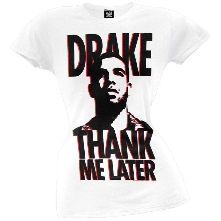Drake - Thank Me Later Juniors T-Shirt