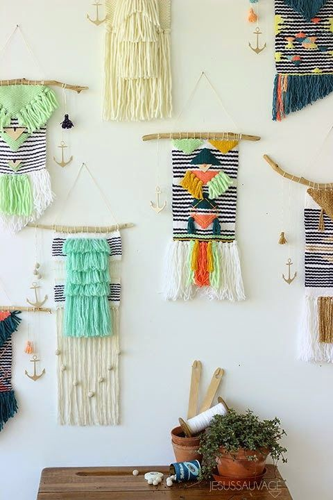 Brown Girl Decorating: Woven Wall Hangings [Love Or Leave?]