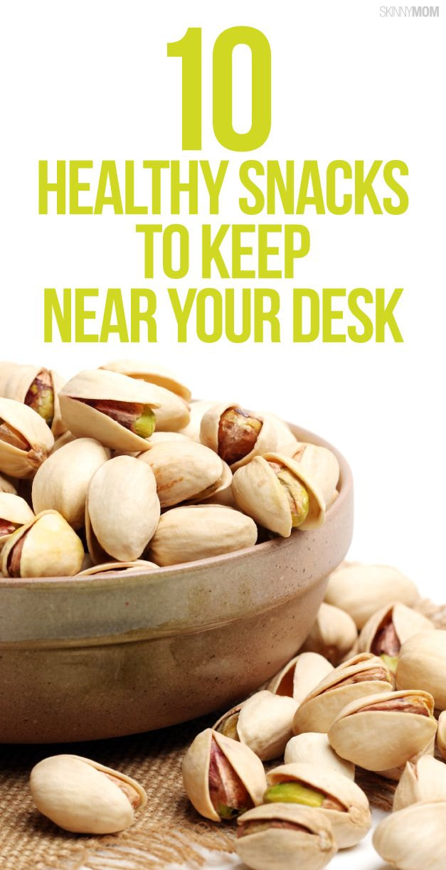 Healthiest snacks to keep at your desk!