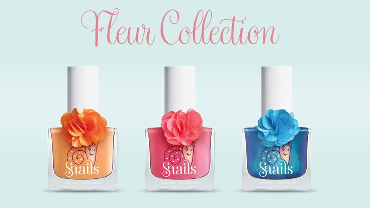 "AVAILABLE IN STORES SOON! Spring is in the air and also in Snails! Snails new ""Fleur"" Spring Collection is a must for this amazing time of the year"
