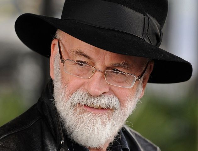 Terry Pratchett en 2010
