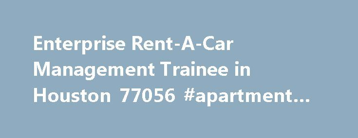 enterprise car rental job hiring