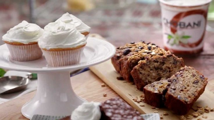 Chobani is the perfect, good-for-you ingredient for any baked good your sweet tooth craves. Add it to any baked good—cookies, breads, cupcakes, and more—to g...