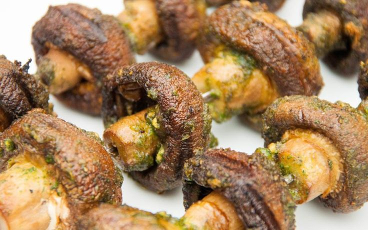 <p>These garlicky mushrooms make a great addition to any barbecue.</p>
