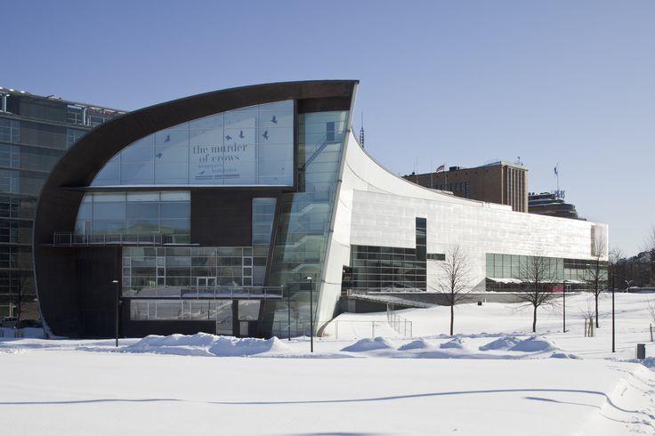 Kiasma from the north, winter | Photo: Finnish National Gallery / Pirje Mykkänen