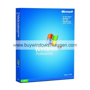 Windows XP Professional With Service Pack 3 Product Key