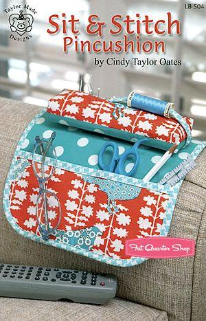 Sit & Stitch Pincushion Pattern Taylor Made Designs #LB-504