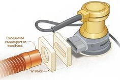 Play matchmaker with dust-collection hoses | WOOD Magazine