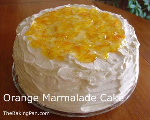 Orange Marmalade Cake Recipe | TheBakingPan.com