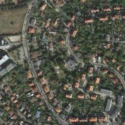 Mapa satelitarna miejscowości Gorzów Wielkopolski,  Zdjęcia satelitarne Gorzów Wielkopolski