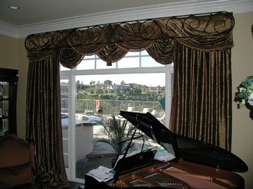 Top Treatments - eclectic - window treatments - san diego - Installations Etc.