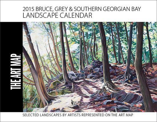 2015 Landscape Calendar | The Art Map  Cover by Kristina Maus