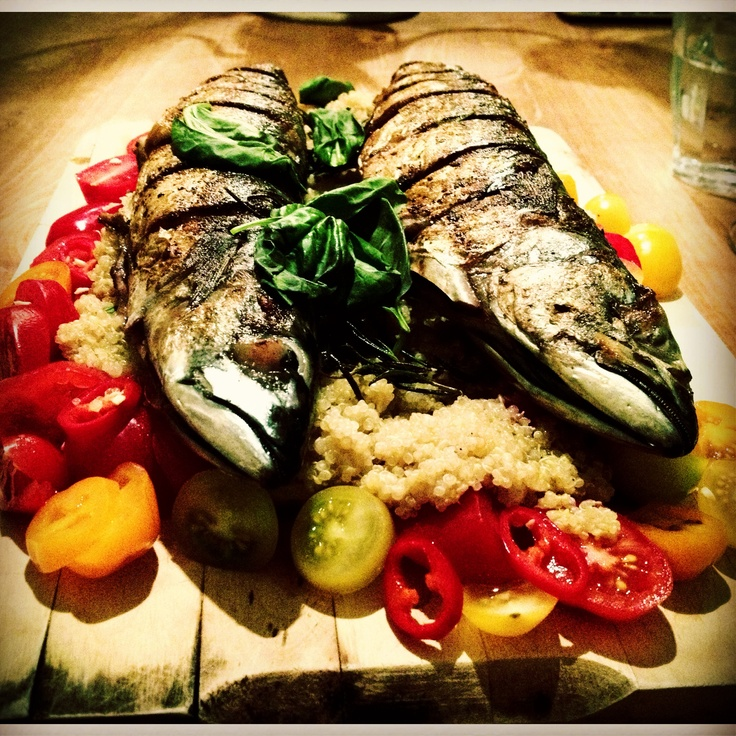 Lunch Ideas Jamie Oliver: Mighty Mackerel, Mixed Tomato & Quinoa Salad By Jamie