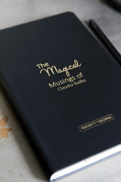 Personalised 'The Magic Musings of...' Notebook from Rockett St George