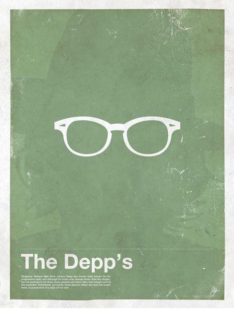 Miss Spectacles: Framework. Eyewear Made Famous  The Depp's Johnny Depp