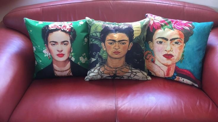 #FridaKahlo Cushions now exclusively available at #Vampedfurniture R450.00