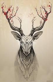 Resultado de imagen para siluetas de cabezas ciervos