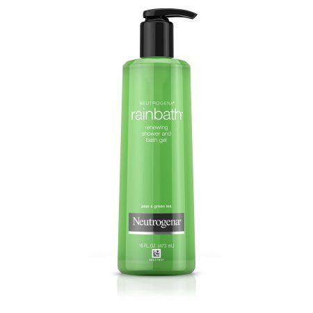 Neutrogena Rainbath Renewing Shower And Bath Gel, Body Wash, Pear & Green Tea, 16 Fl. Oz.