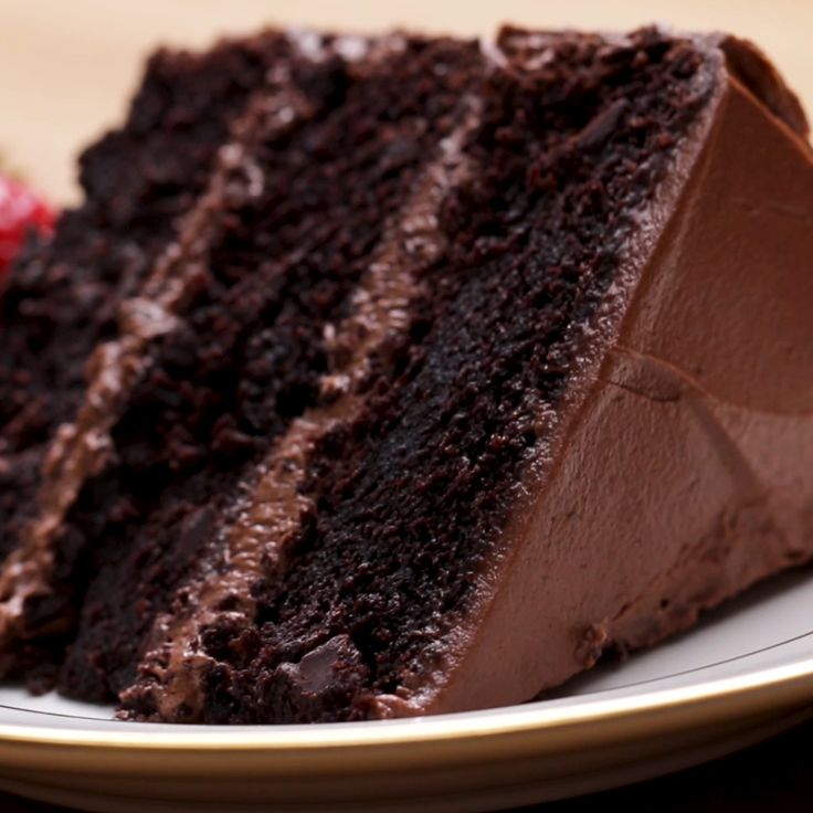 Der ultimative Schokoladenkuchen   – Kuchen, Desserts und alles für den süßen Zahn