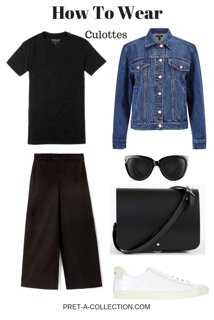 How To Style: Culottes