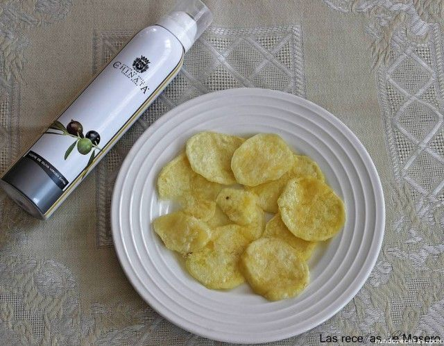 Patatas chips (microondas)