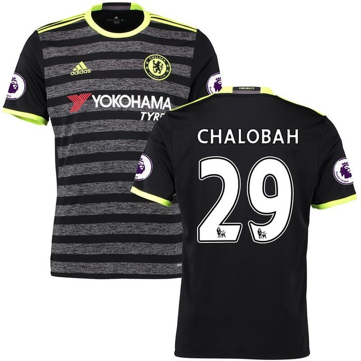 Nathaniel Chalobah Chelsea adidas 2016/17 Away Replica Jersey - Black https://tmblr.co/ZnVlHd2OD7f2L