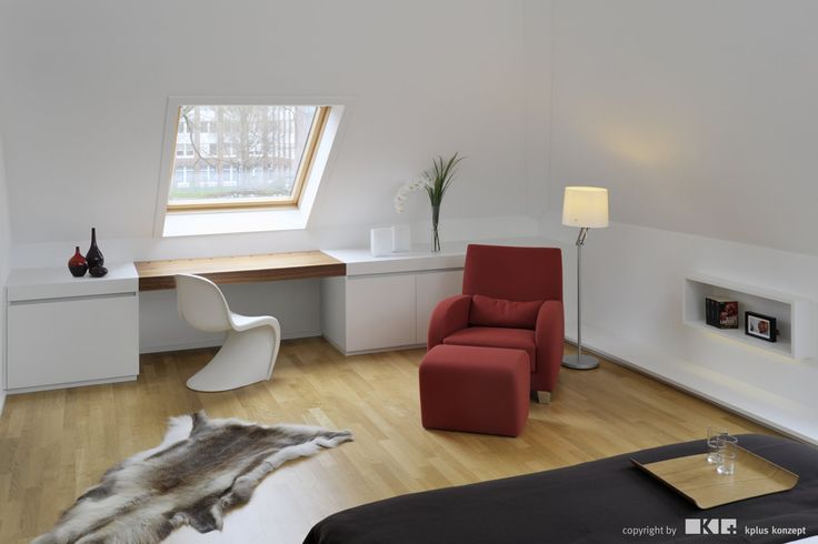 Attic S - Interior by kplus konzept - Photo by kratz photographie