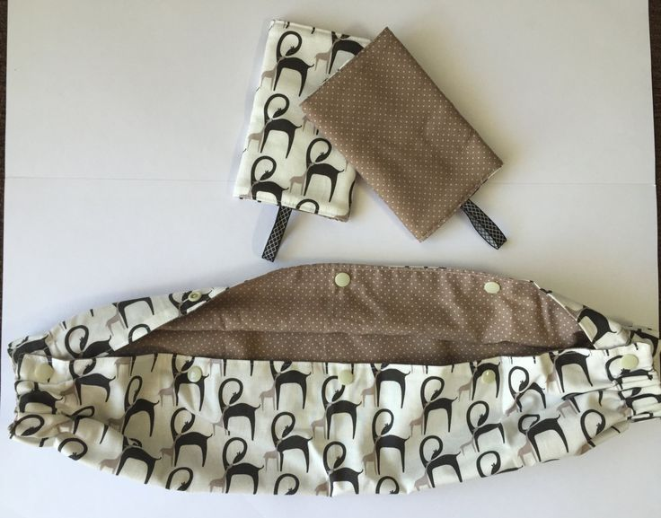 Reversible Ergo Tula SSC baby carrier cover and matching teething suck drool pads by ThreeHousesDesigns on Etsy