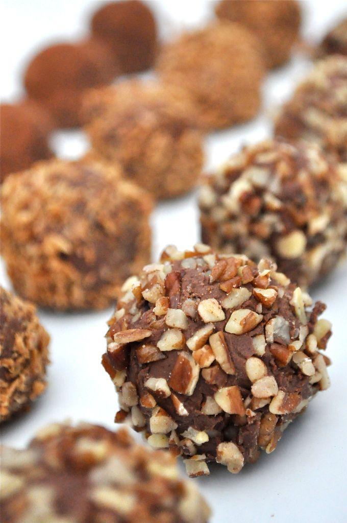 Dark Chocolate Paleo Truffles