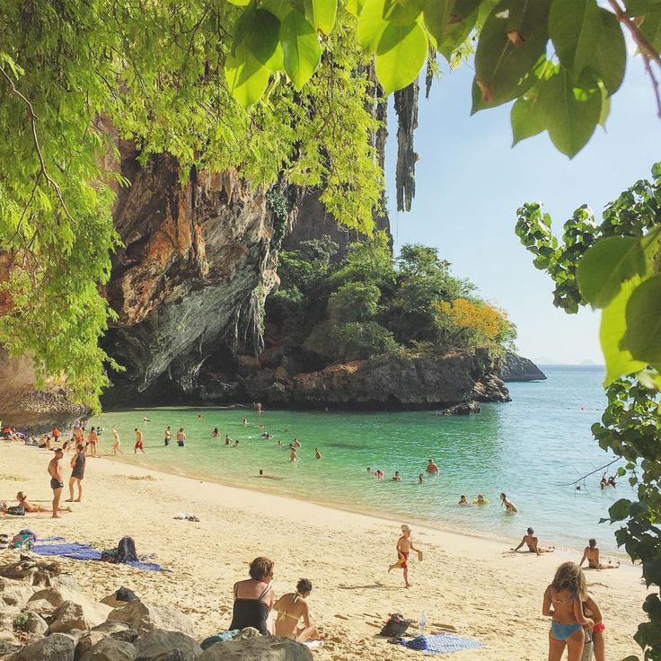 BBM KOREA   Krabi, Thailand   Railay Beach    (@brianabmorgan)