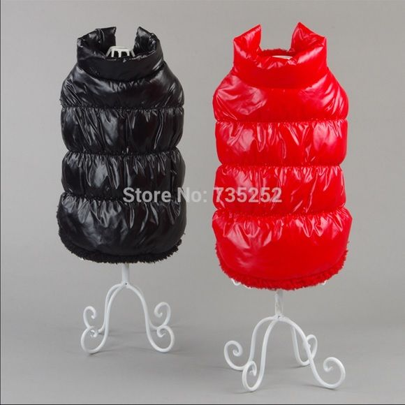 WINTER SALE For the one whom wants to see their love one warm and with style - totally Moncler like. Comes in black and red and in Medium size Moncler Other