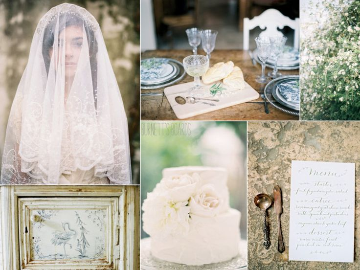 Modern Victorian wedding inspiration