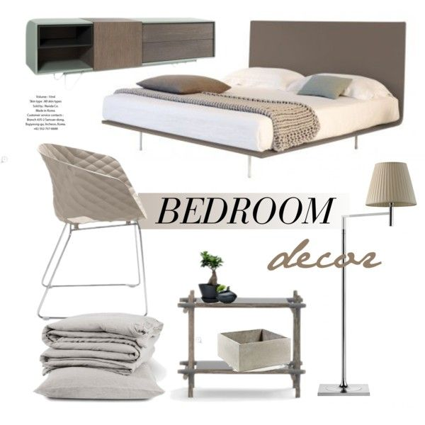 Bedroom Decor by lovethesign-eu on Polyvore featuring interior, interiors, interior design, Casa, home decor, interior decorating, The Linen Works, Serax, Metalmobil and bedroom