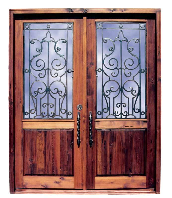 Wood And Iron Front Doors