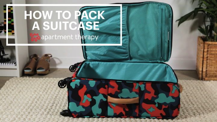 how to pack a suitcase like a professional