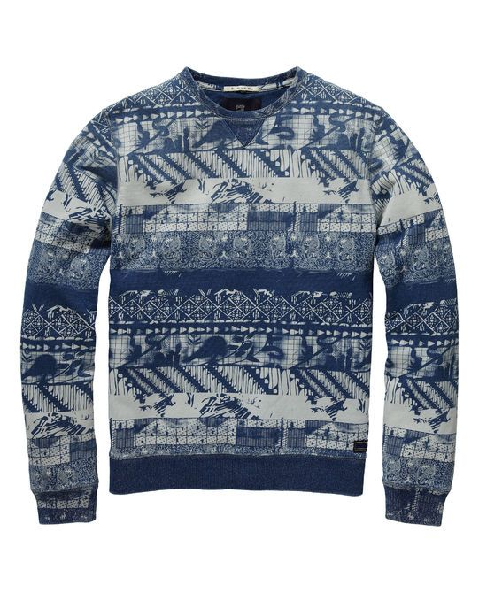 Sweat-shirt imprimé | Sweat-shirt | Habillement Homme Scotch & Soda